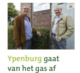 Ypenburg gaat van het gas af