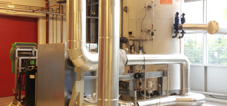 Elektrodeboiler in mei operationeel